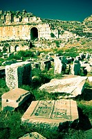 Miletus ancient greek city ruins  Aydin province  Western coast of Anatolia  Turkey