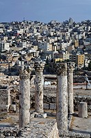 Ruins of the Byzantine Church at the Citadel, Amman, Jordan