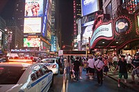 USA  United States  New York  Times Square.