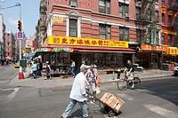 USA  United States  New York  Chinatown.