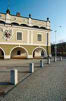 Lazne Bohdanec Townhall, The Eastern Bohemia, Czech Republic