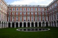 Fountain Court at Hampton Court Palace Surrey