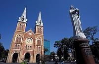 Nha Tho Duc Ba Saigon Notre_Dame Basilica, Ho Chi Minh City Saigon, Vietnam