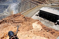 Bird´s Eye View of Kennecott Copper Mine