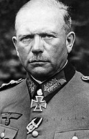 HEINZ WILHELM GUDERIAN (1888-1954). German general and tank expert. Photograph, c1943.