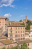 Europe, Italy, Tuscany, Siena, Basilica di Santa Maria dei Servi