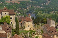 Saint Cirq Lapopie, Lot River, Lot Valley, Way of St James, Midi Pyrénées, France, Europe