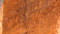 Indian Petroglyphs near Moab
