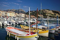 Village of Cassis, Cote d Azur, France.