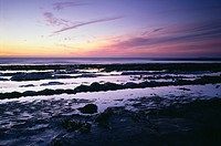 Kilve Beach on the Bristol Channel coastline, Somerset, England, United Kingdom