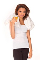 woman drinking energy_drink