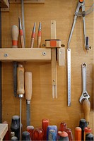 Germany, Upper Bavaria, Schaeftlarn, Variety of tools