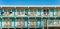 Motel, Wildwood, New Jersey, NJ, USA
