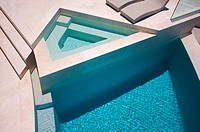 Custom Luxury Pool and Chairs Abstract