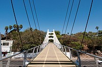Bridge tha leads to the entrance of Fuerte de San Diego Muesum Acapulco Guerrero Mexico