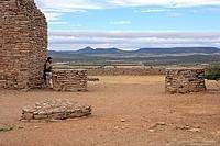 Ruins of Chicomostoc circa 300_1200, La Quemada, state Zcatecas, Mexico