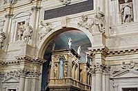 Teatro Olimpico Olympic Theatre, 1580_1585 by Andrea Palladio, Vicenza, Veneto, Italy
