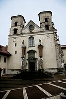 Benedictine Abbey in Tyniec, Poland.