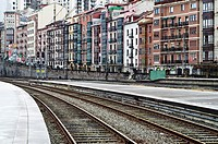 Abando Train station  Bilbao  Basque Country, Spain