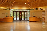 interior of the new building at Vandusen Garden, Vancouver, BC, Canada