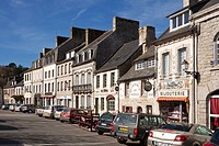 Huelgoat town centre, Brittany, France