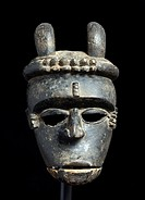 Ibibio Idiok Mask, tribal art, Nigeria, Africa