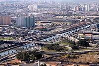 Tatuapé Bridge, Condessa Elizabeth de Robiano Avenue, Belém, Vila Maria, São Paulo, Brazil.