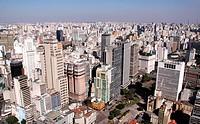 Vale do Anhangabaú, Dom Pedro I Park, São Paulo, Brazil