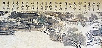 The painting Riverside Scene at Qingming Festivalof Zhang Zeduan in the Northern Song Dynasty
