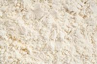 background of white whey protein isolate powder