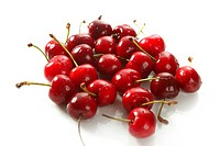 Cherry red fruits texture