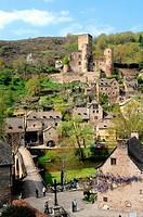 Belcastel, Aveyron, Midi-Pyrénées, France