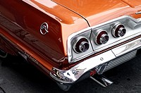 1963 Chevrolet Impala, Driver's Side Rear Quarter