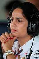 Monisha Kaltenborn, Friday Practice, Formula One, European Grand Prix, Valencia, Spain