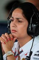 Monisha Kaltenborn, Friday Practice, Formula One, European Grand Prix, Valencia, Spain