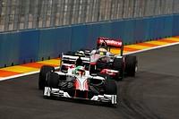 Vitantonio Liuzzi, Lewis Hamilton, Friday Practice, Formula One, European Grand Prix, Valencia, Spain