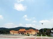 Xixinchan temple in human province