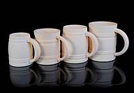 Image of a wooden beer mug