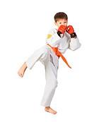 Aikido boy.Martial Arts