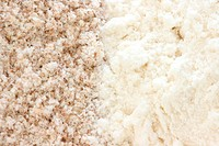 Flour _ smooth and wholegrain types
