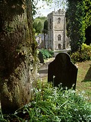 The Parish Church of St Just and St Mawes stands beside an inlet of the Fal Estuary surrounded by a beautiful churchyard tended as a garden. Legend su...