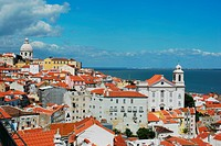 City view of the Capital of Portugal, Lisbon