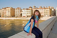 Lyon, historical site listed as World Heritage by UNESCO, old town, Rhône-Alpes, France