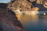 Lake Mead as seen from Hoover Dam area