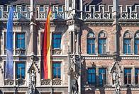 Munich Old City Hall in Bavarian Gothic