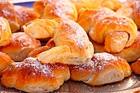 Fresh baked pastry