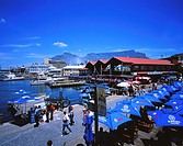 Victoria and Alfred Waterfront and Table Mountain, Cape Town, West Cape Province, South Africa
