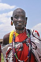 Portrait of people in the Masai Mara, Kenya
