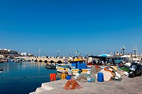 PORT OF GALLIPOLI, PUGLIA, ITALY