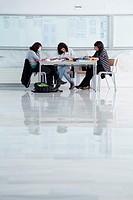 Students, School of Business Studies EUEE, Gipuzkoa Campus, UPV, EHU, Basque Country University, Donostia, San Sebastian, Gipuzkoa, Spain